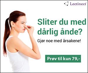 Lectinect munnhelse mot dårlig ånde kun 79 kr - Dårlig ånde kan ha mange årsaker.
